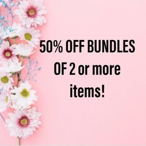50% off TWO or MORE items— LOAD UP!